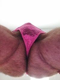 New pink panties..up view..