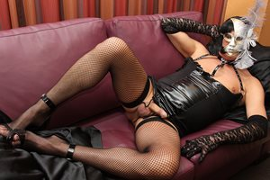 Horny in stockings