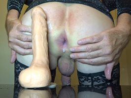 New squirting dildo and I love it.
