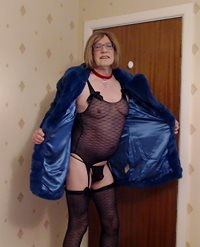 What do they say, a fur coat and no knickers, oops left them on.