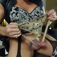SEE what I do to your panties ??!!