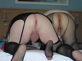 Hotel - I night in stockings and heels