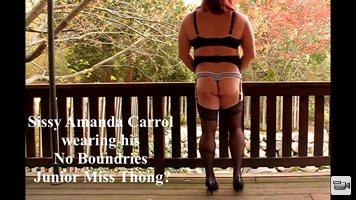 Sissy amanda carrol models junior miss underwear. When your little sissy co...